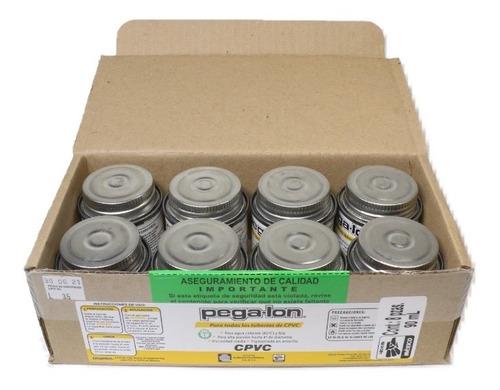Imagen 1 de 4 de Pegalon - Cemento Cpvc - Caja Con 8 Botes De 90 Ml