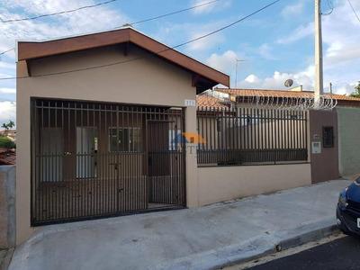 Casa Com 3 Dormitórios Para Alugar Por R$ 1.500/mês - Vila Camargo - Limeira/sp - Ca0688