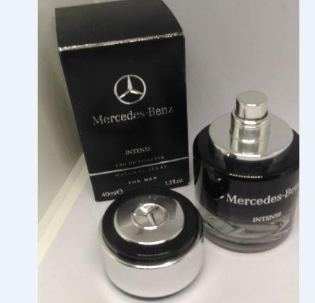 Frasco Perfume Mercedes Benz Intense P/ Colecionadores