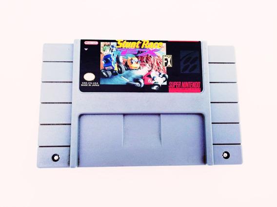 Fita Original Stunt Racer Super Nintendo