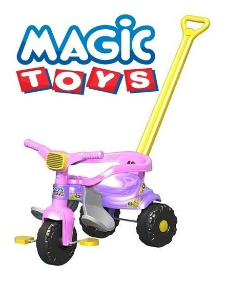 Velotrol,triciclo,motoca Infantil Smart Super Rosa