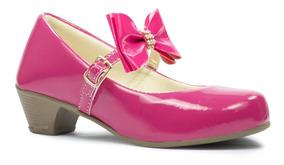 Sapatilha Salto Infantil Feminina Menina Sapato Criança 39