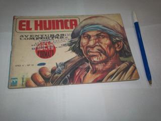 Revista Antigua El Huinca Nro 51 Abril 1972