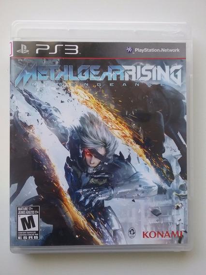 Metal Gear Rising Ps3 Mídia Física Legendado Br Perfeito