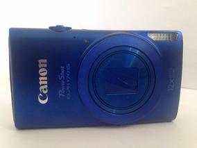 Camera Digital Canon Power Shot Elph 170 Is S/cabo/bateria