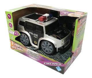 Auto Hummer Urbana Brigada Con Luz Y Sonido Tv 6237 Bigshop