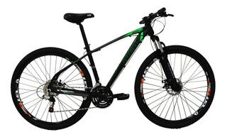 Bicicleta Aro 29 24 Vel Preto/verde High One Revolution
