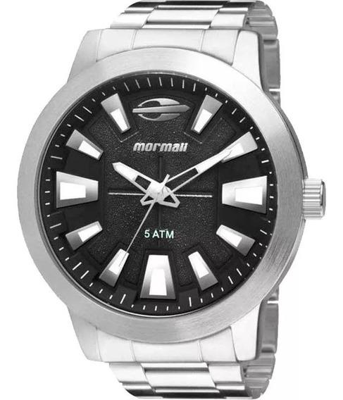 Relógio Mormaii Aço - Mo2035cz/3p Ponta De Estoque