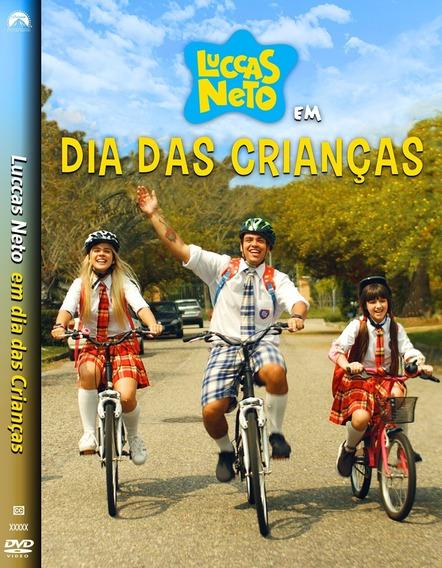 Dvd Luccas Neto Em - Dia Das Crianças ( Nacional )