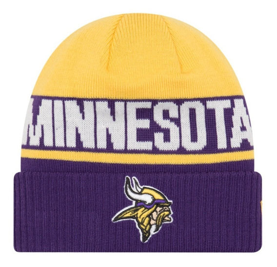 Gorra New Era Minnesota Vikings Beanie Invierno Nfl