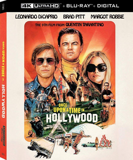 4k Uhd + Blu-ray Once Upon A Time In Hollywood /de Tarantino