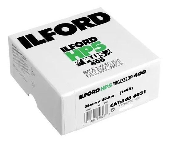 Filme 35mm Ilford Hp5 Iso 400 - Rolo 30 Metros Frete Grátis