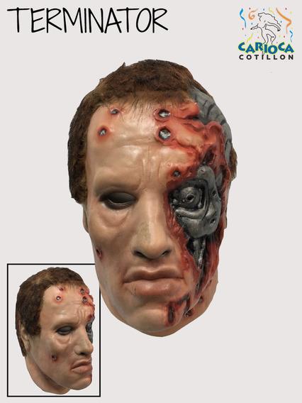 Mascara De Latex Terminator Arnold Schwarzenegger