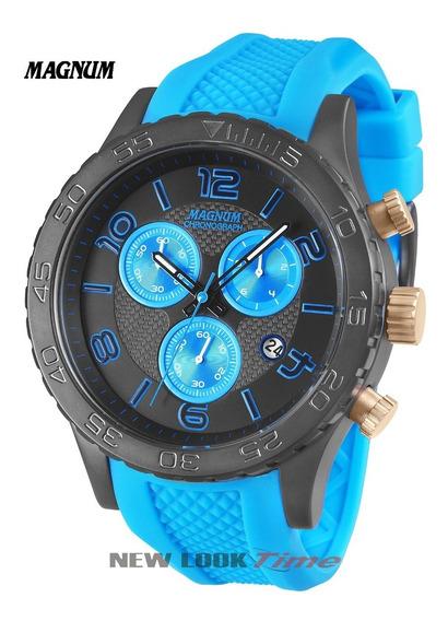 Relógio Magnum Masculino Cronógrafo Ma33504f