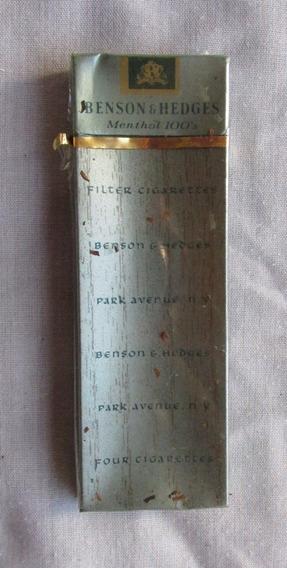 Antiguo Paquete De 5 Cigarrillos Benson &, Sin Abrir.