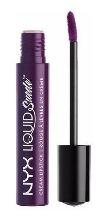 Nyx - Liquid Suede Creme Lipstick - 19 Subversive Socialite