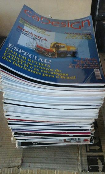 Lote Com 78 Revistas Cadesign