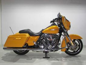 Harley Davidson Street Glide - 2013 Amarela