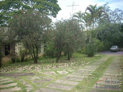 Granja Viana- Excelente Localização, Linda Vista, Casa Térrea Com Pequeno Desnível !! - Ca0453