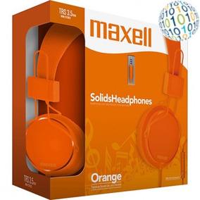 Gadgetfacil - Headphone Com Microfone Maxell Over The Ear La