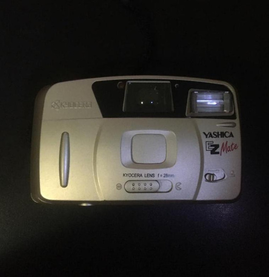 Câmera Fotográfica Antiga Yashica Ez Mate Kyocera