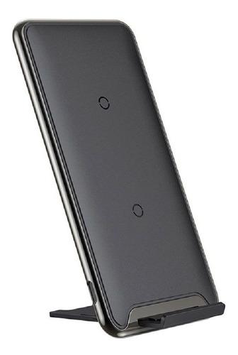 Carregador Wireless Sem Fio Qi Base Indução Turbo Portatil