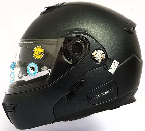 Casco Abatible Grex De Nolan G9.1 Evole Lente Interno Grafit