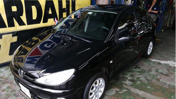 Peugeot 206 Color Negro 1400 Economico Año 2009