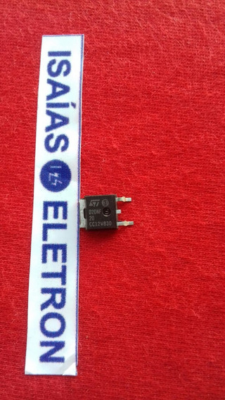 Pacote Com 10 Transistores Mosfet D20nf20 Smd Std20nf