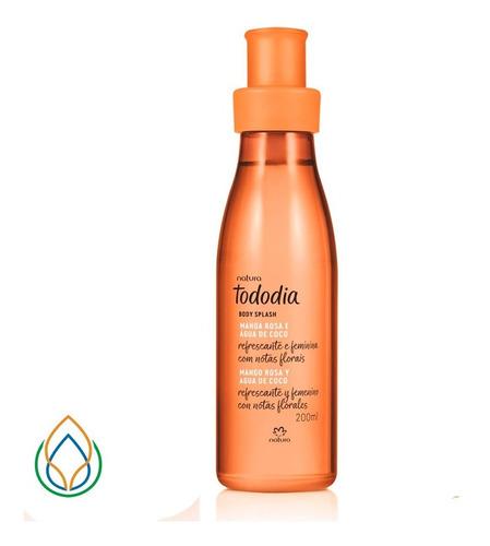 Body Splash Tododia Mango Rosa Y Agua De Coco 200ml Original