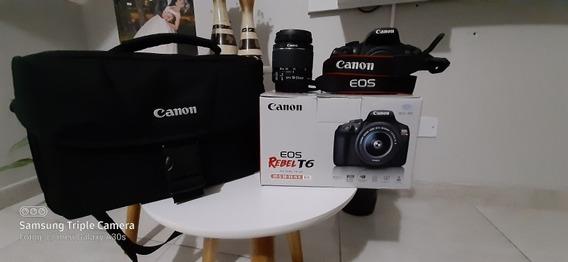Kit Câmera Canon T6 - Eos Rebel