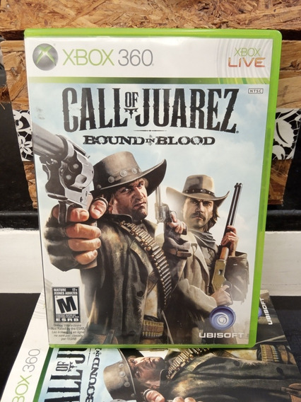 Call Of Juarez Bound In Blood Xbox One E Xbox 360