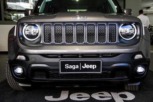 Jeep - Novo Renegade Longitude 1.8  05 Passageiros 2021