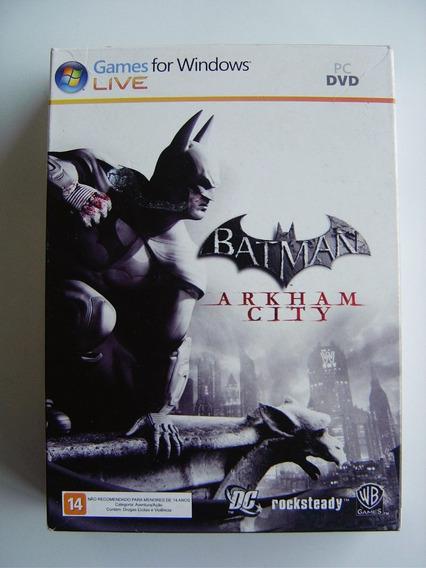 Batman Arkham City - Jogo Para Pc Computador Edição Especial