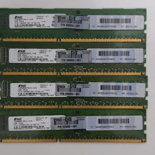 Memoria 8gb (4x2gb) Pc3l 10600r Ecc Reg - Hp / Dell / Ibm