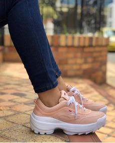 Zapatillas Fila Disruptor De Dama