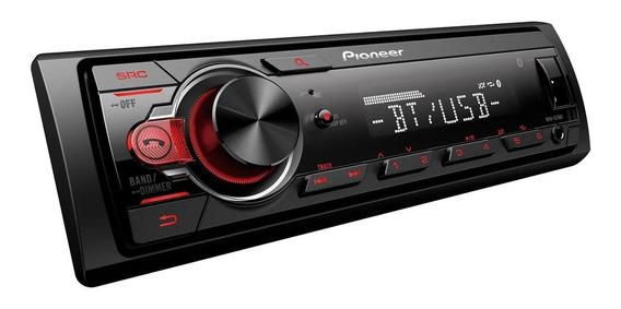Combo Pioneer Mvh 215 Bt Usb + 2 Parlante Pioneer 6x9 400w