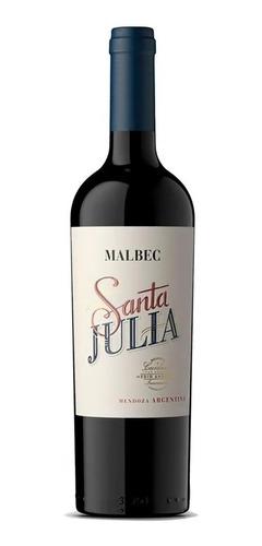 Vino Santa Julia Malbec X 750cc. De Familia Zuccardi