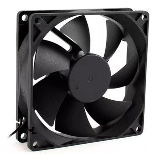 Cooler Fan Preto 120mm Gabinete Air Cooling Preto / Sem Led