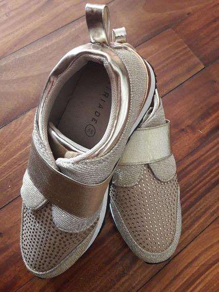 Zapatillas Italianas Miriade Talle 37 1/2