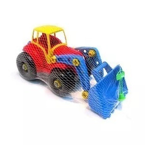 Trator De Brinquedo Didatico