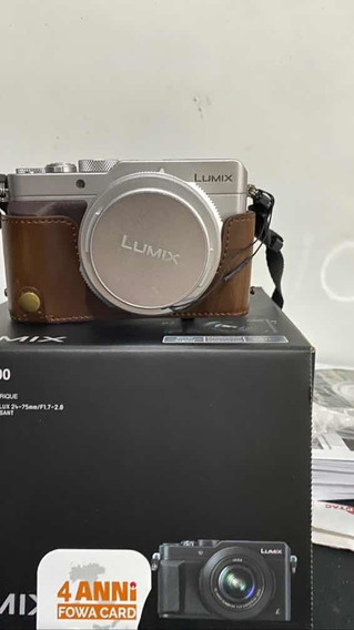 Panasonic Lumix Lx100 Na Caixa