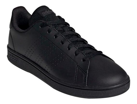 Tenis adidas Advantage Base Unisex Originales Negros Ee7693