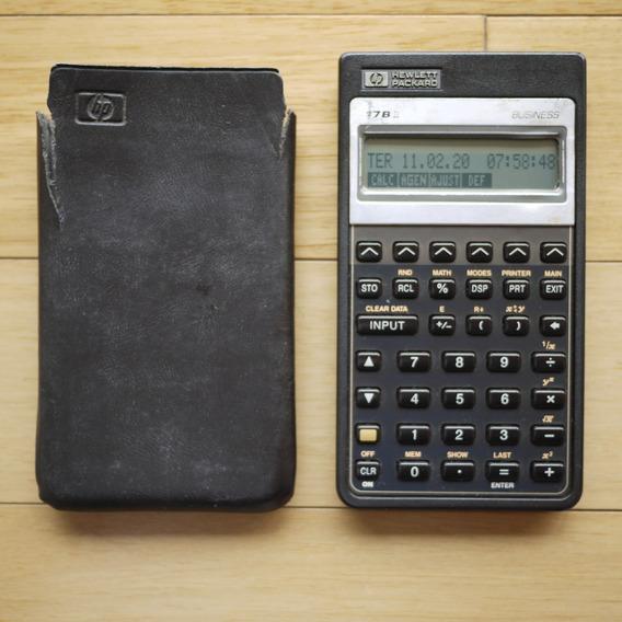 Calculadora Financeira Hp 17bii - Muito Melhor Que 12c