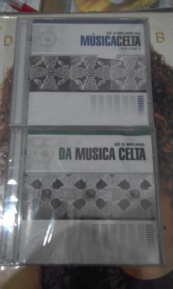 Pack Com 2 Cds Melhor Da Musica Celta (volume 1 E 2)lacrados