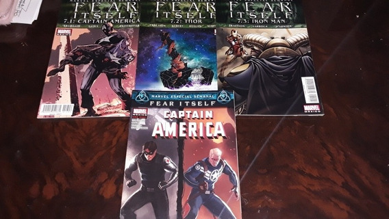 Especiales Fear Itself Captain America Thor Iron Man Marvel