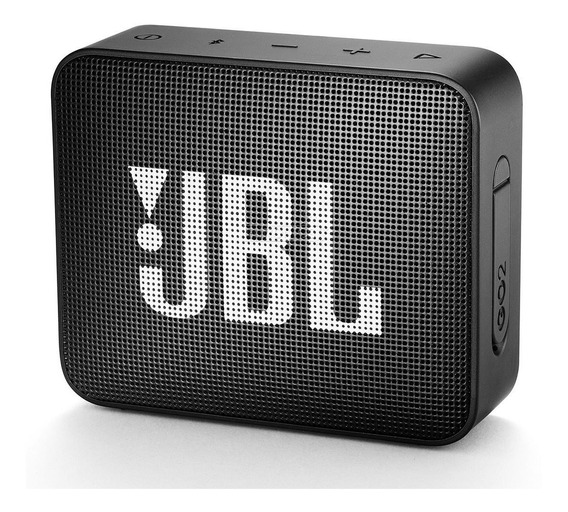 Caixinha Jbl Go 2 Bluetooth A Prova D´água Original - Preta
