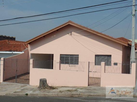 Casa Com 2 Dormitórios Para Alugar, 150 M² - Parque João De Vasconcelos - Sumaré/sp - Ca6429
