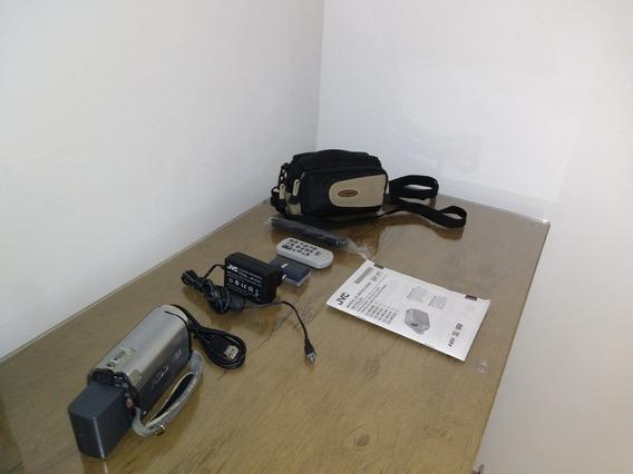 Filmadora Jvc Gz-mg330 Zoom 35x Com 1 Bateria Extra..