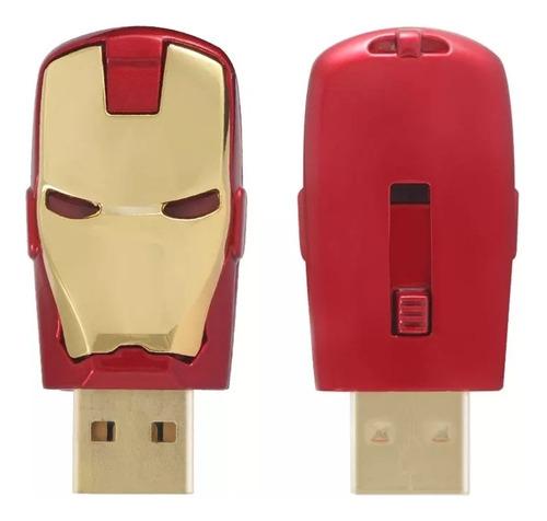 Memoria Usb De 64 Gb. Capacidad Real. Diseño Iron-man
